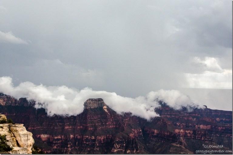 Inversion from Lodge North Rim Grand Canyon National Park Arizona