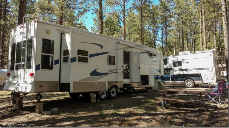 RVs #9 Abbey Road North Rim Grand Canyon National Park Arizona
