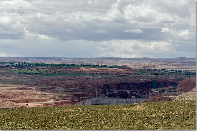 Glen Canyon Dam Wahweap overlook SR89 Arizona