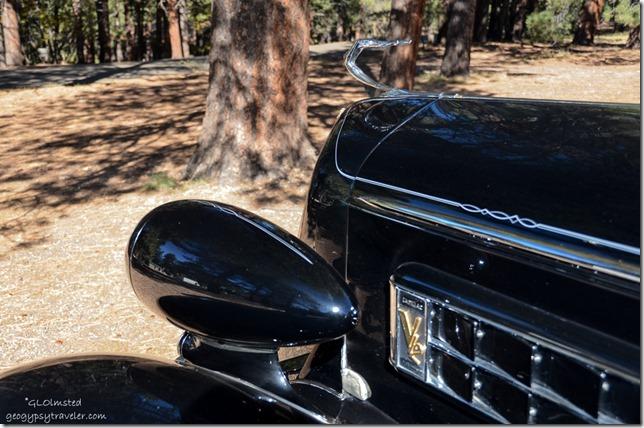 Old Cadillac in parking lot North Rim Grand Canyon National Park Arizona