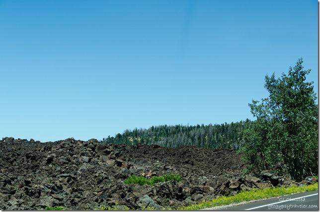 Lava flow SR14 Utah