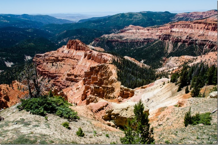 Chessman Ridge Overlook Cedar Breaks National Monument Utah