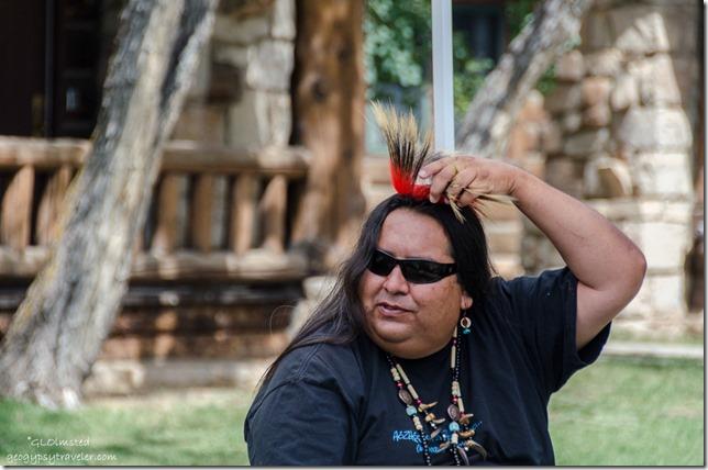 Milton Tso Navajo Flutes Heritage Days North Rim Grand Canyon National Park Arizona