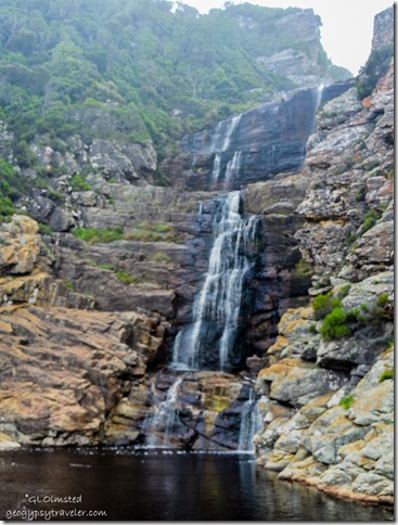 Waterfall Waterfall trail Tsitsikamma National Park South Africa