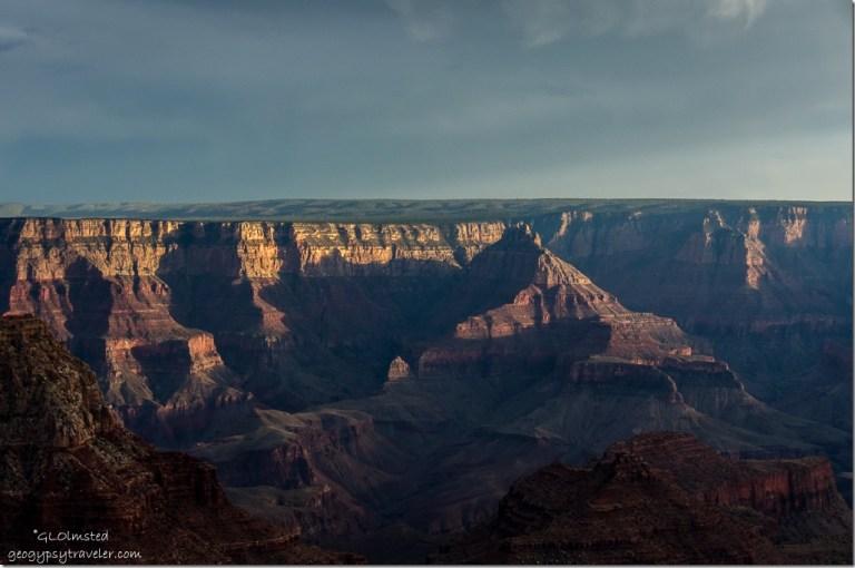 SE from Cape Royal North Rim Grand Canyon National Park Arizona