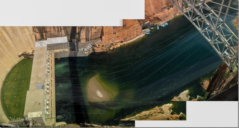 Colorado River below Glen Canyon Dam Page Arizona