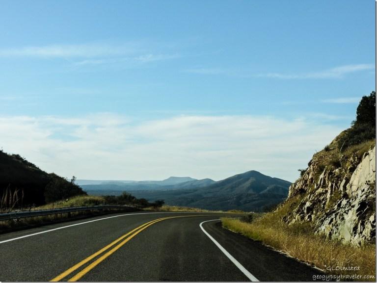 Weaver Mountains Iron Springs Road South Arizona