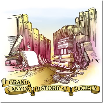 Grand Canyon Historical Society t-shirt logo