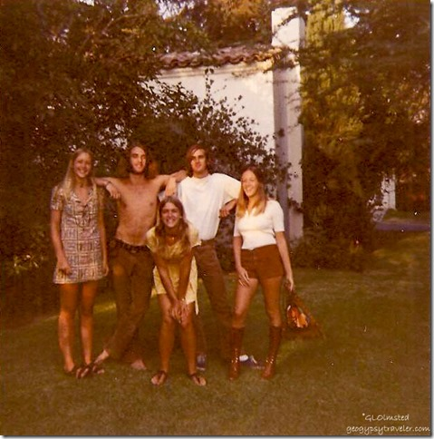 Vacation cousins LaCanada California 1970