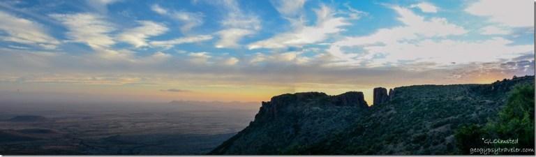 Sunset Camdeboo Natinal Park Eastern Cape Graaff-Reinet South Africa