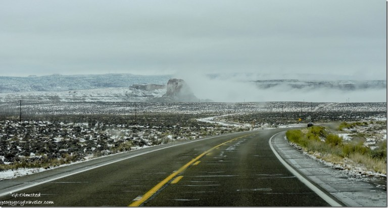 Inversion SR89 West Arizona
