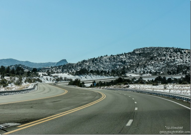 Snow Pioneer Parkway West Prescott Arizona