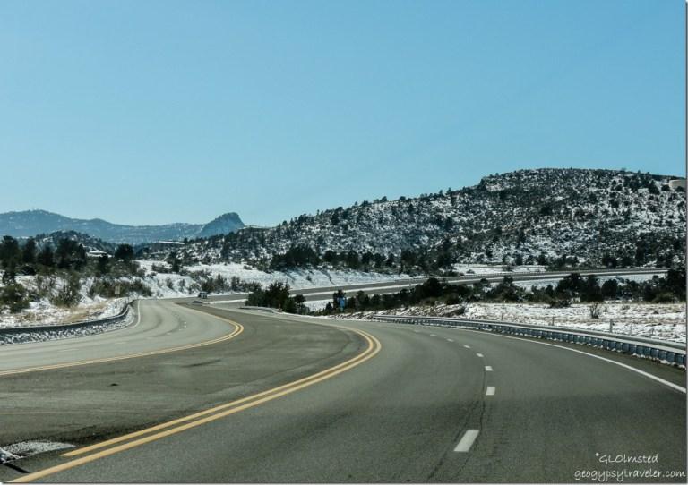 Snow Pioneer Parkway West Prescott Arizona