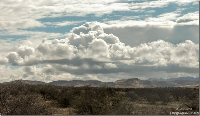 Clouds Weaver Mts SR89 Peeples Valley Arizona