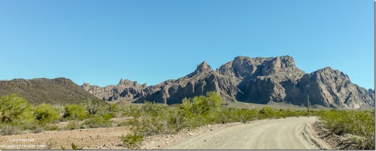 Palm Canyon Road KOFA Mountains Arizona
