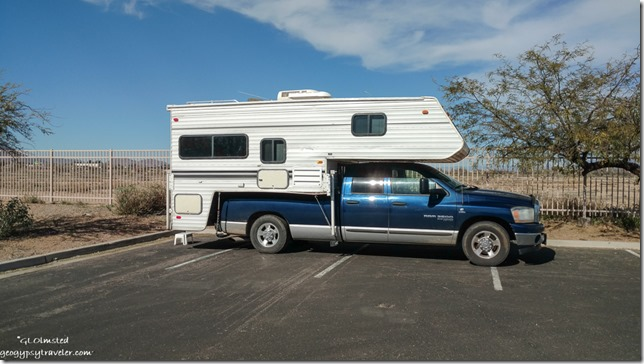 Truck camper Casino Arizona