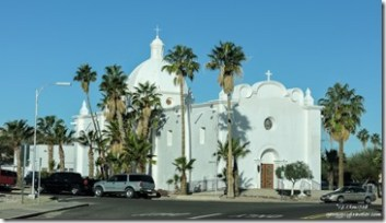 Catholic church Ajo Arizona