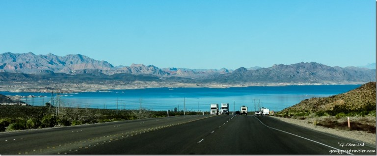 Lake Mead SR93 East Boulder City Nevada
