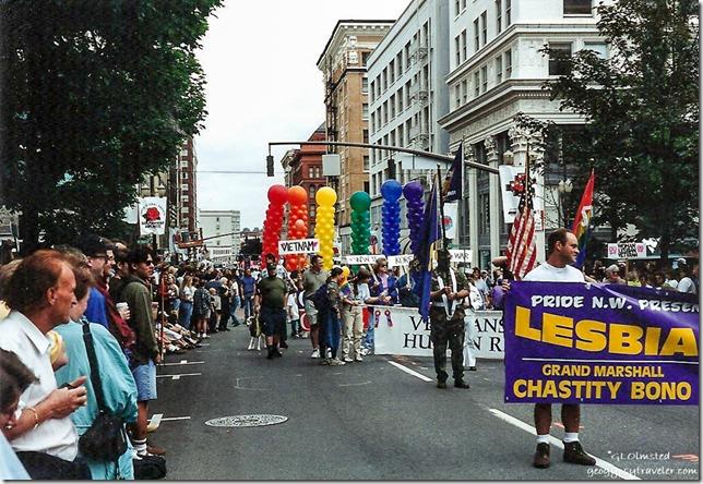 Gay Pride March Portland Oregon