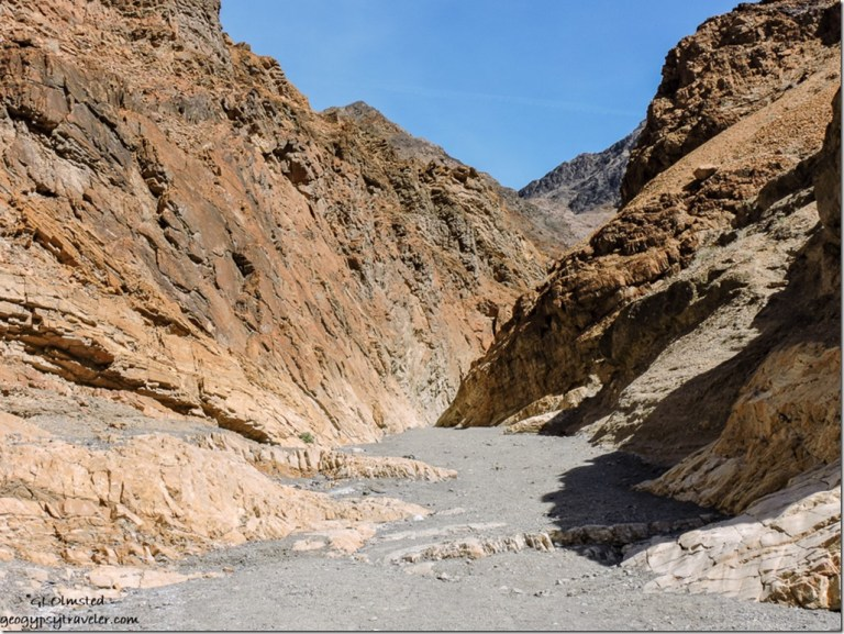 Mosaic Canyon Death Valley National Park California