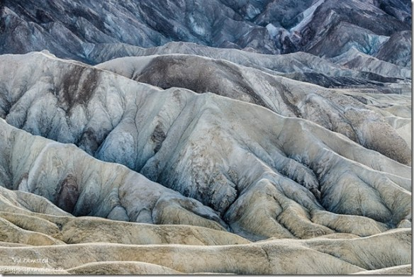 Badlands Zabriskie Point Death Valley National Park California