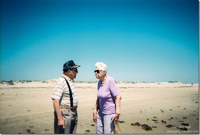Dad & Mom San Padre Island Texas