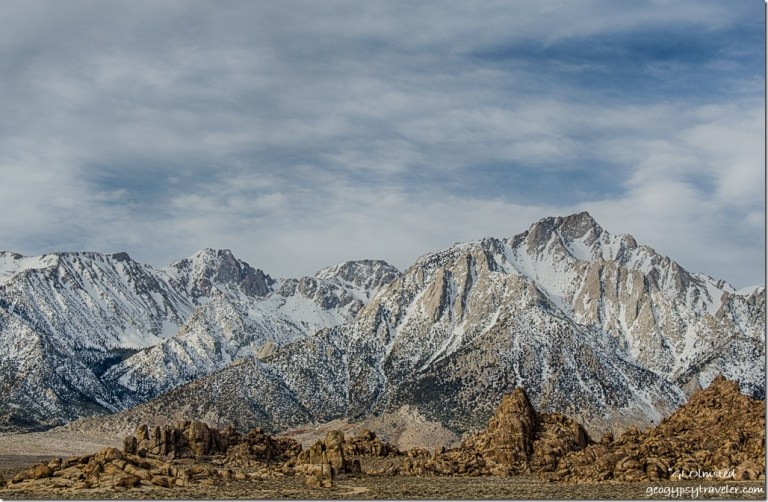 High Sierras Alabama Hills BLM Lone Pine California