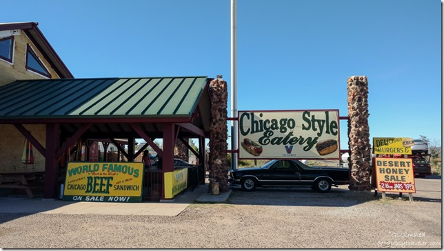Dazzos Chicago Style Eatery US93 Wikeup Arizona