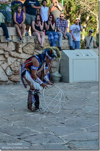 Derek Suwaima-Davis Hoop dance Heritage Days North Rim Grand Canyon National Park Arizona
