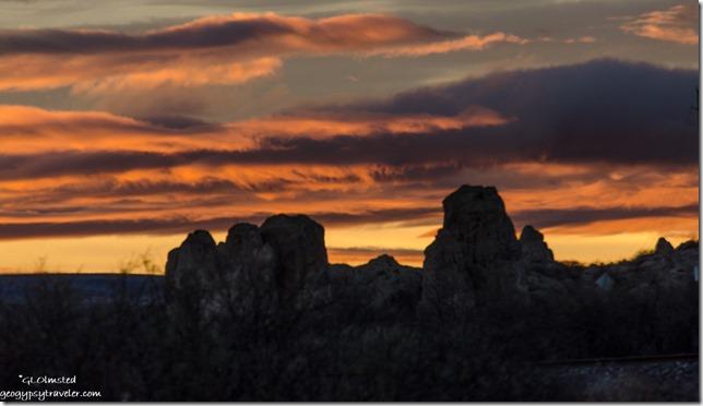 sunset boulders Kirkland Arizona