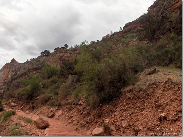Three mile resthouse Bright Angel trail Grand Canyon National Park Arizona