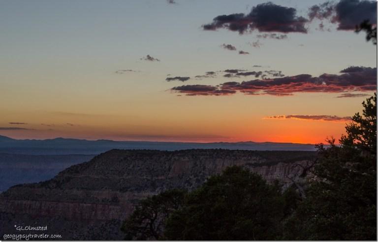 sunset Crazy Jug Point Kaibab National Forest Arizona