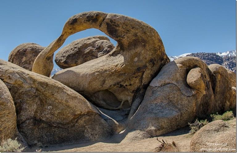 Mobius Arch Alabama Hills BLM Lone Pine California