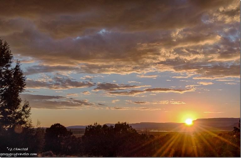 sunset Kanab Utah