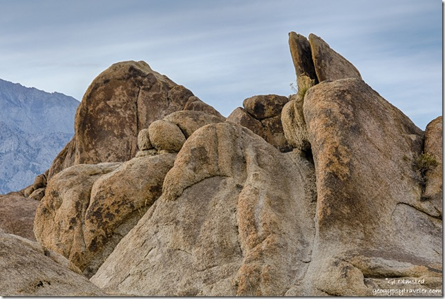 rock dragon Alabama Hills BLM Lone Pine California