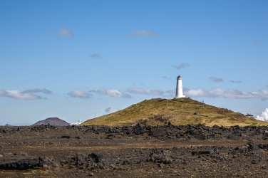 Reykjanes lighthouse in Iceland