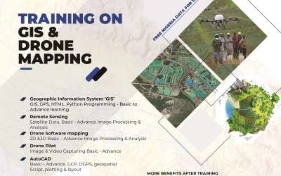 Certified Training on GIS, RS, Drone Mapping and AutoCAD Training