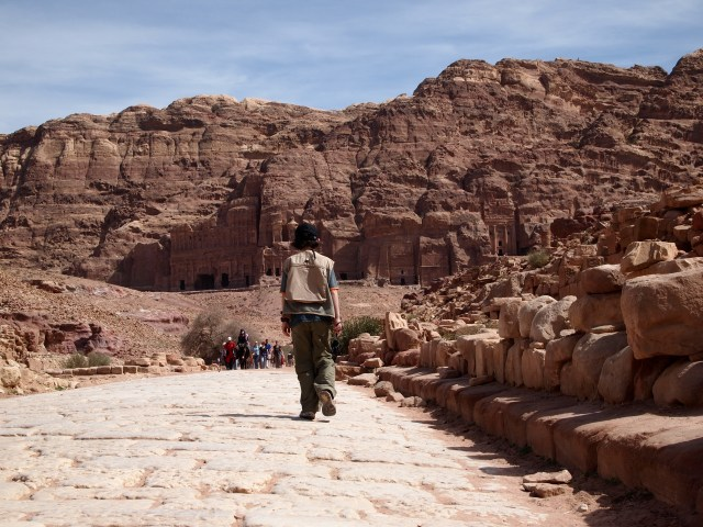 Youngest GeoKid is ready to leave Petra