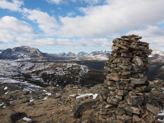 The Monarch and the cairn