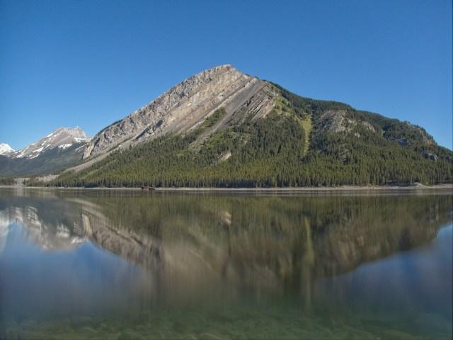 above and below shot Mount Indefatigable