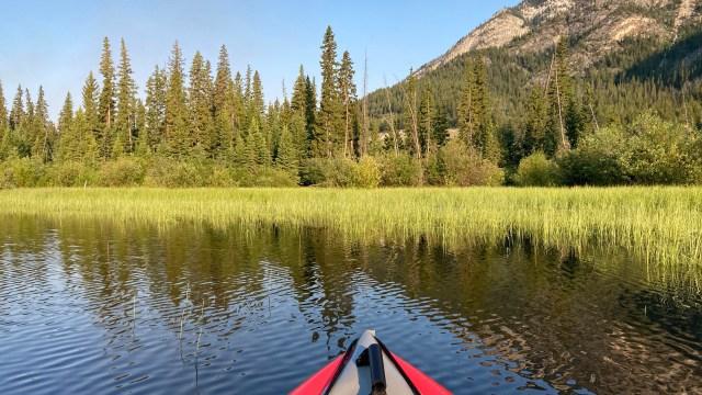 kayak first vermillion lake