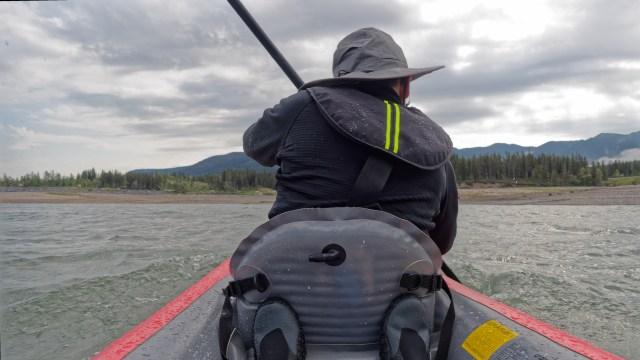 kayaking Barrier Lake