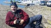 Marty relaxing at Tórshavn Harbour