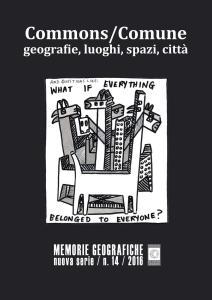 Commons/Comune. Geografie, luoghi, spazi, città