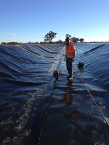 Irrigation Channel Lining Victoria