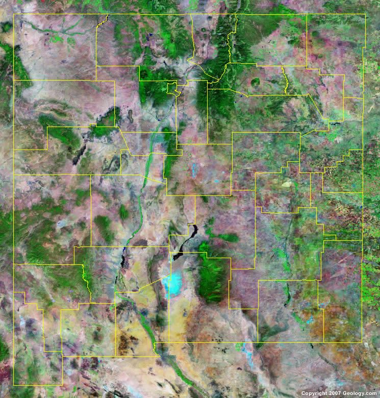 Grant County Oregon Map