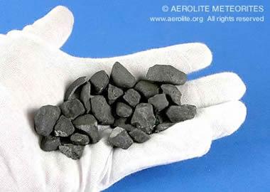 small stone meteorites