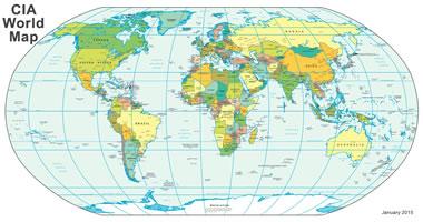world map a clickable
