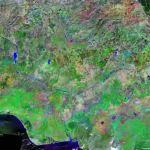 Nigeria Map And Satellite Image