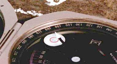 how to use brunton compass